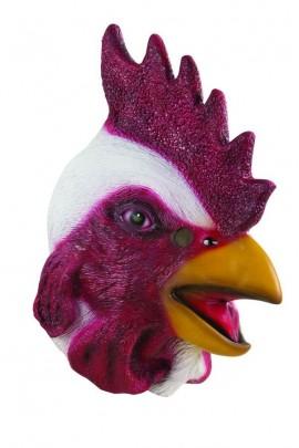 Masque tête de coq
