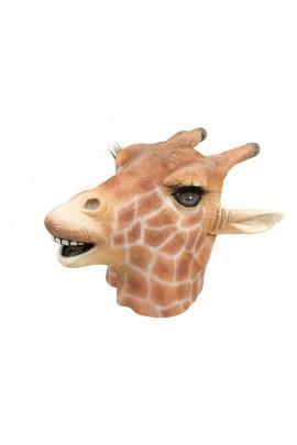 Masque tête de girafe