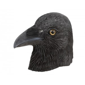 Masque tête de corbeau
