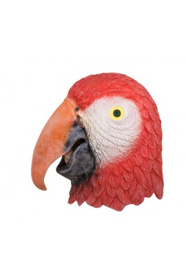 Masque tête de perroquet