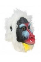 Masque tête de mandrill