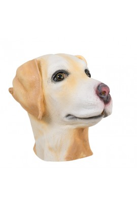 Masque tête de labrador