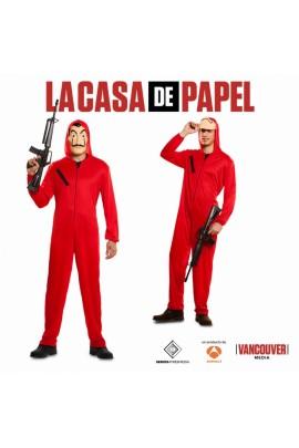 Déguisement Série La Casa Del Papel + Masque