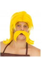Perruque et moustache Cétautomatix™