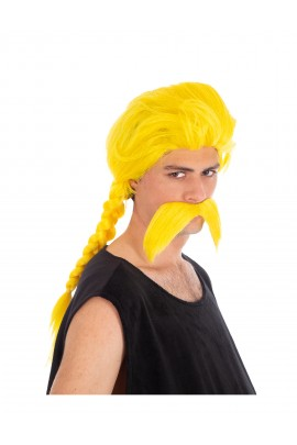 Perruque et moustache Ordralphabétix