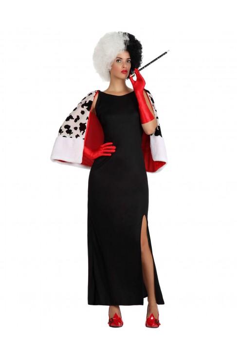 Déguisement dame Cruella d'Enfer