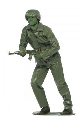 Déguisement petit soldat en plastique