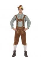 Déguisement homme bavarois Hanz Bavarian