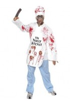 Déguisement Chef cuisinier zombie